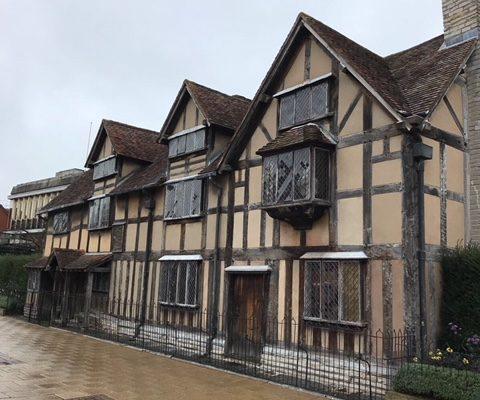 la ciudad natal de Shakespeare