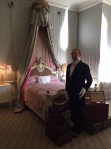 una habitación cualquiera en el Castillo de warkwick