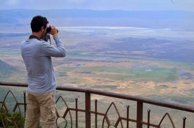 vistas desde un mirador del Ngorongoro