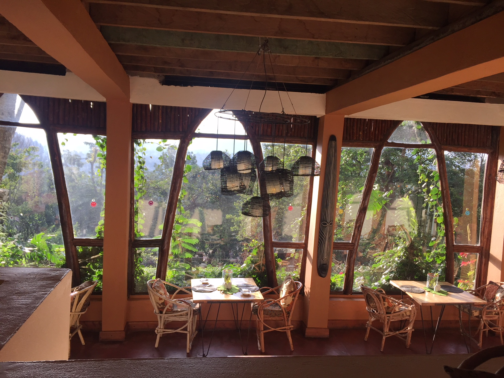 Restaurante del Karama Lodge Arusha