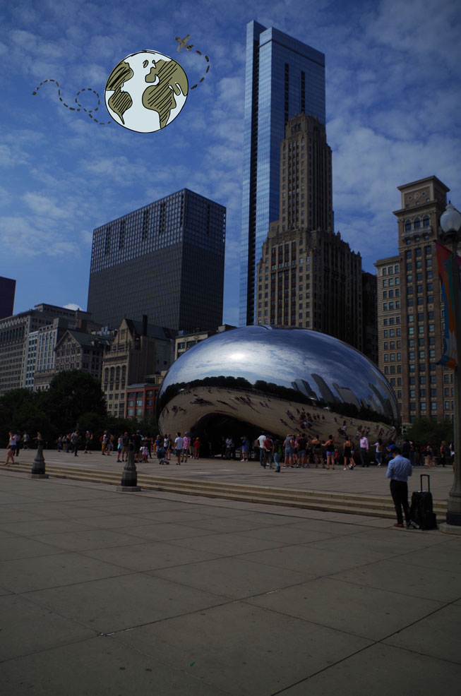 The cloud gate Chicago