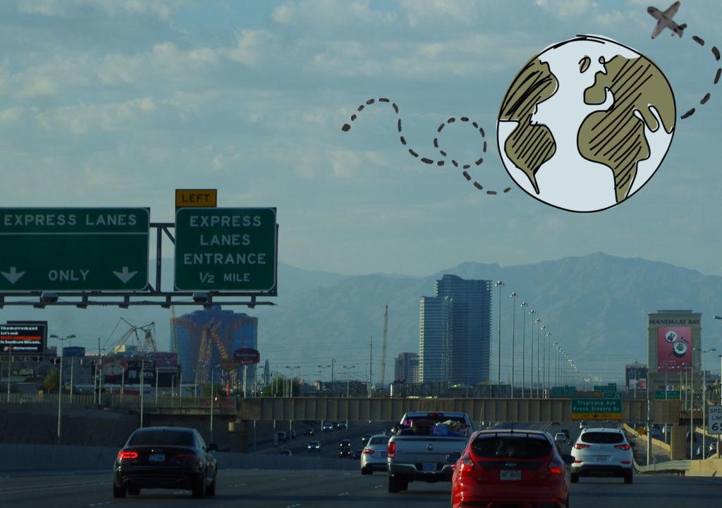autovía en los Estados Unidos, Express lanes