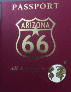 Pasaporte del estado de Arizona de la ruta 66