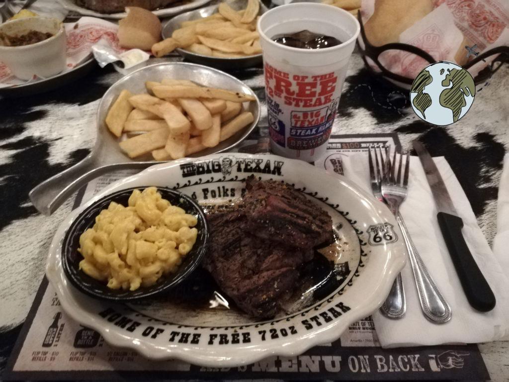 plato del Big Texan
