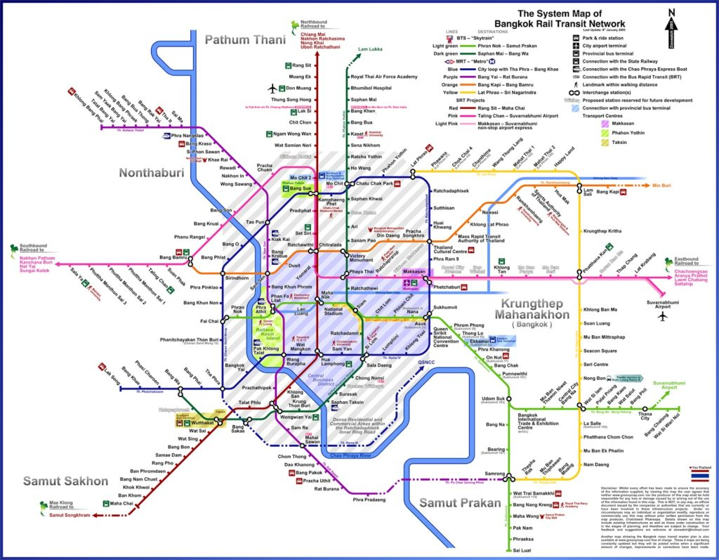 MRT MAP BANGKOK