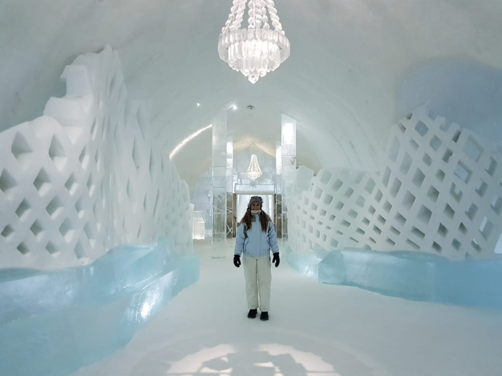 pasillos ICEHOTEL