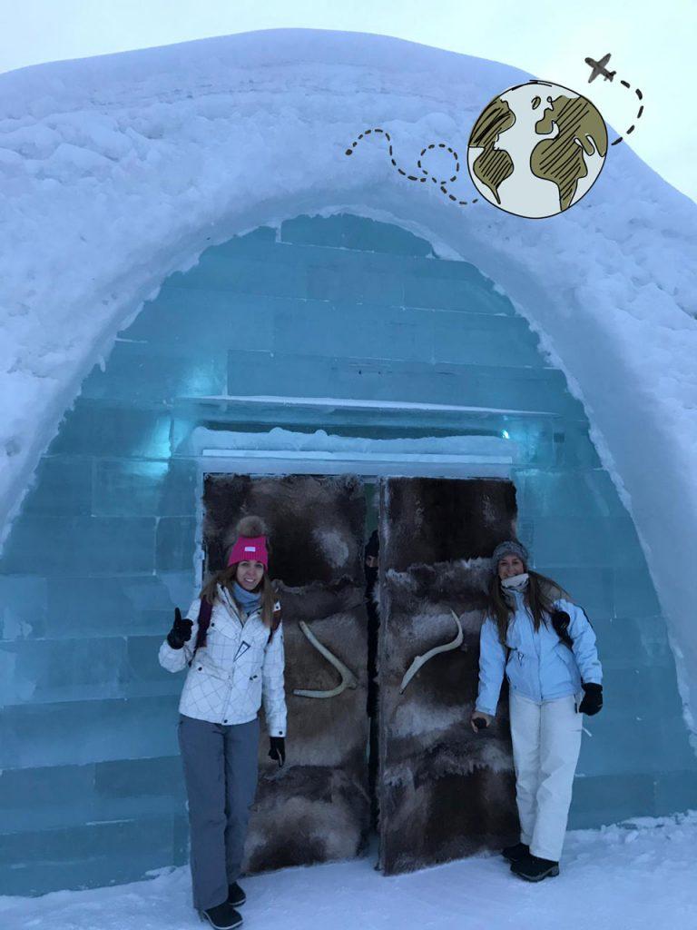 Entrada al ICEHOTEL