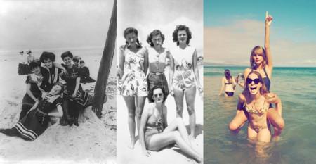 los últimos 100 años de playa