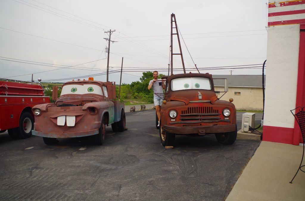 Cars on Route 66