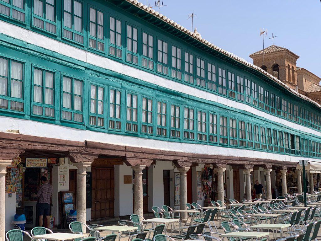 plaza del pueblo de Almagro